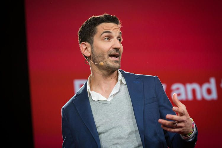 Guy Raz on TED stage 0
