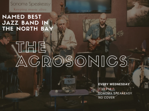 Jazz night with The Acrosonics